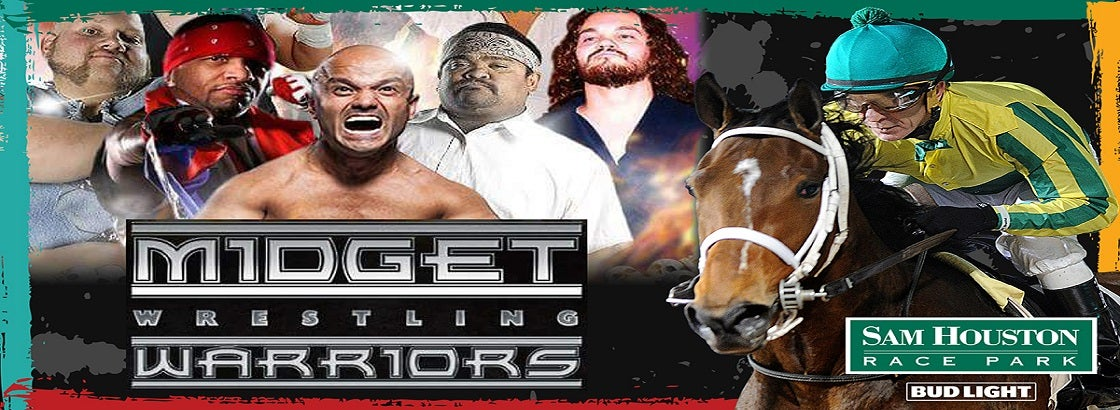 Post Race Show By Midget Wrestling Warriors Sam Houston