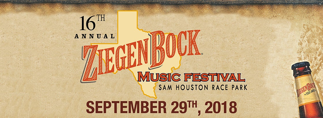 16th Annual ZiegenBock Music Festival | Sam Houston Race Park